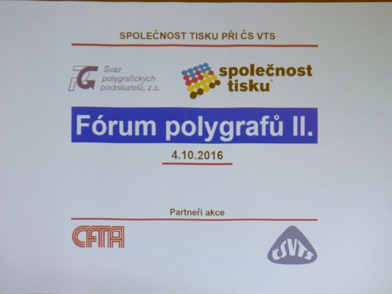 Fórum polygrafů II. – zápis z konání programu