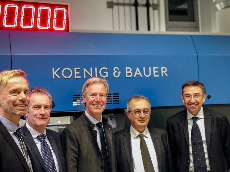 Posílení aktivit Koenig & Bauer na rostoucím trhu obalů